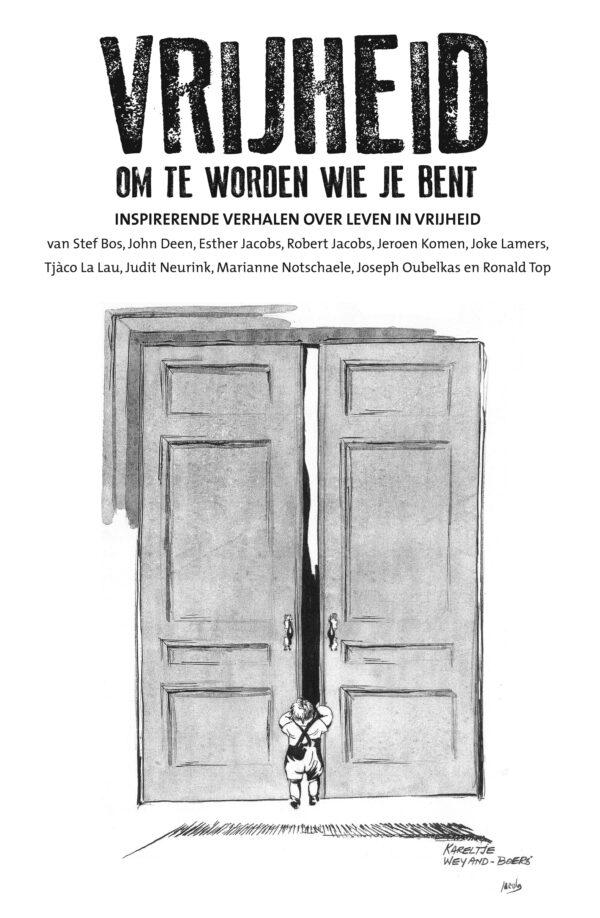 Boek Cover: Vrijheid om te worden wie je bent